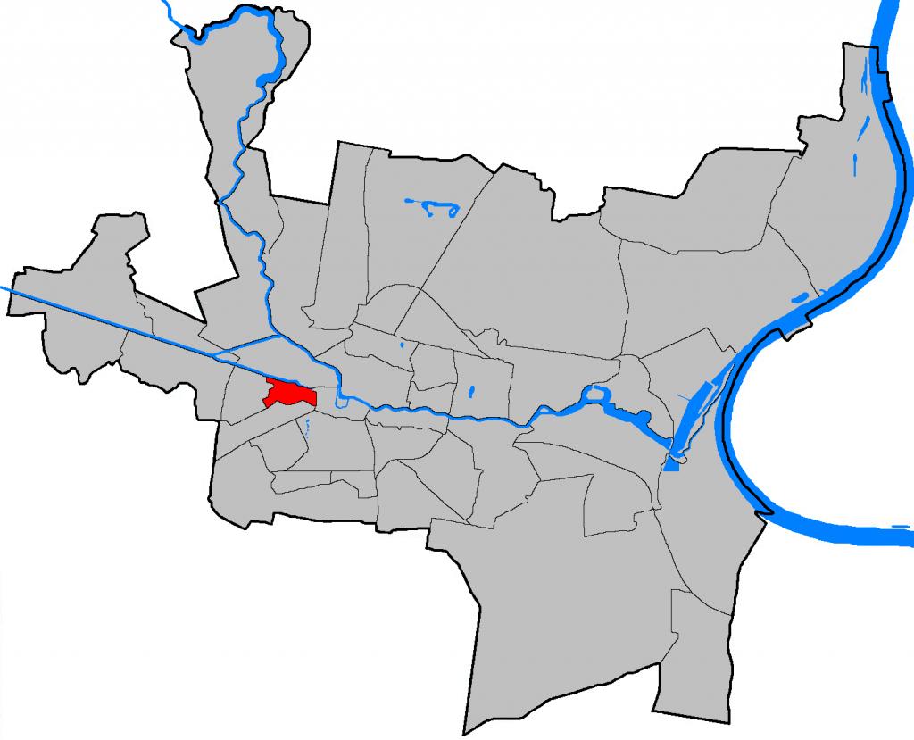 Die Lage von Wilczak in Bydgoszcz