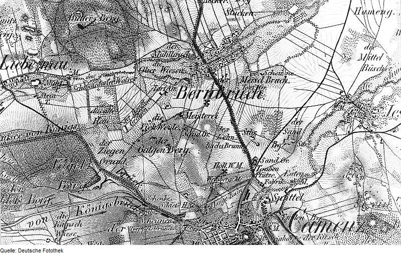 Bernbruch um 1844/1846