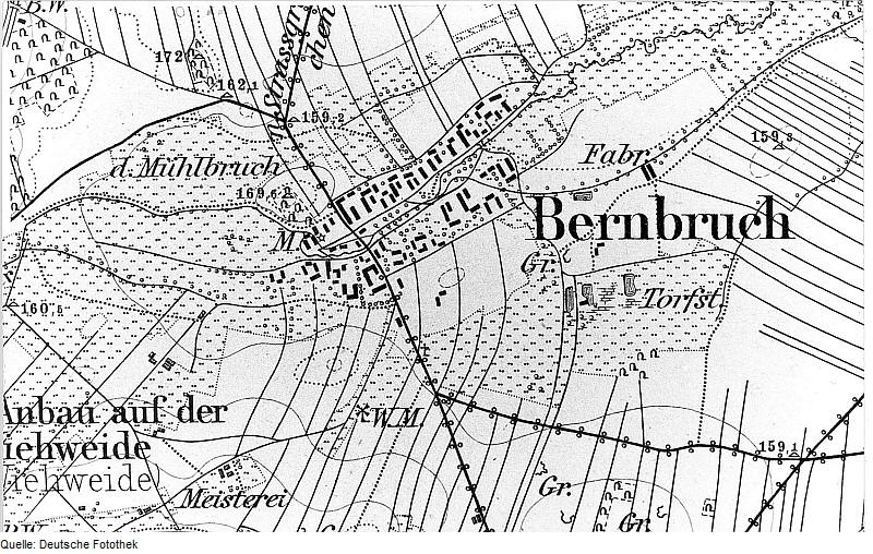 Bernbruch um 1883