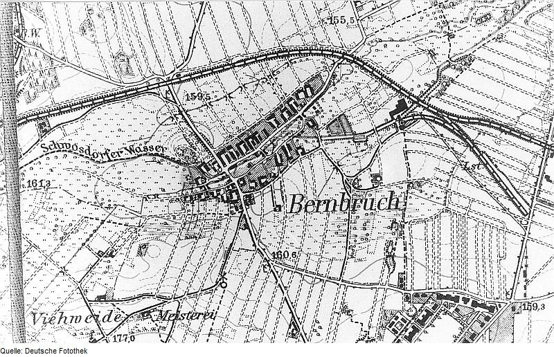 Bernbruch um 1904